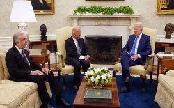 بایدن در دیدار با غنی و عبدالله: سربازان امریکایی بیرون میشوند، اما حمایت از افغانستان ادامه خواهد یافت