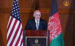 غنی به طالبان: اگر راه زور را انتخاب کنید، با ملت افغانستان مقابل خواهید شد