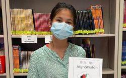 دانشآموز صنف پنجم مکتب فیرپورت از افغانستان،  داستانی را در مورد افغانستان در کتاب جدیدش نوشته و به اشتراک گذاشته است!