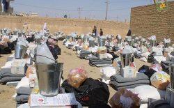 وزارت امور مهاجرین: چهار هزار خانوادهی بیجاشده در ۱۵ ولایت کمک دریافت کردند