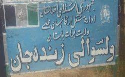 فرماندهی پلیس ولسوالی زندهجان هرات در درگیری با طالبان زخمی شد