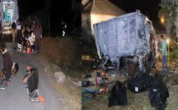 رویداد ترافیکی در ترکیه؛ ۱۲ مهاجر کشته و ۲۶ نفر دیگر زخمی شدند