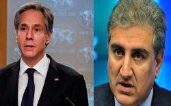 وزیران خارجهی امریکا و پاکستان، در بارهی روند صلح افغانستان صحبت کردند