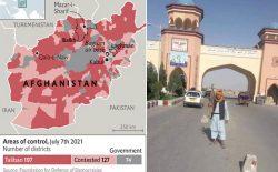 خروج ناتو از افغانستانِ در حال جنگ