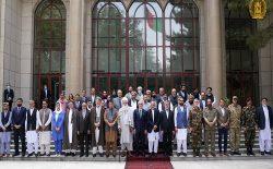 رهبران سیاسی و جهادی، حمایت خود را از نیروهای دفاعی و امنیتی اعلام کردند