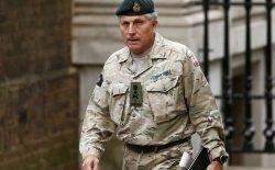 رییس ستاد ارتش بریتانیا: پس از خروج نیروهای خارجی، احتمال دارد افغانستان وارد جنگ داخلی شود
