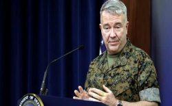 جنرال مکنزی: حملات هوایی امریکا در حمایت از سربازان افغانستان ادامه خواهد یافت