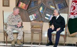 جنرال مکنزی: امریکا به حمایت خود از نیروهای امنیتی افغانستان در برابر تروریزم ادامه میدهد
