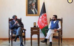 حمدالله محب و نمایندهی غیرنظامی ناتو، در بارهی فصل بعدی حضور ناتو در افغانستان صحبت کردند