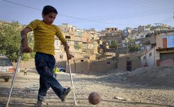 پولیو و طالبان؛ هر سال کودکان بیشتری فلج میشوند!