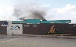 جنگجویان طالب یک مکتب دخترانه را در شهر غزنی به آتش کشیدند