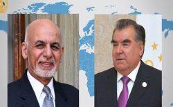 غنی به رحمان: به افرادی که به خاطر جنگ به تاجیکستان پناه برده اند، رسیدگی خواهد شد