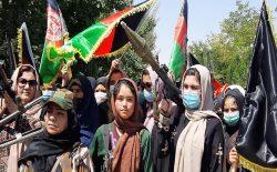 واکنشها به سلاحبرداشتن زنان در غور علیه طالبان؛ شجاعت یا نمایش؟