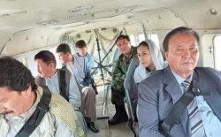 برگشت هواپیمای حامل والی جدید از فضای دایکندی؛ مرادعلی مراد، معاون اول وزارت دفاع میشود