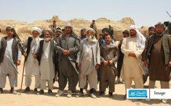 افسران بازنشستهی ارتش در جوزجان، در حمایت از نیروهای امنیتی در خط نبرد حضور یافتند
