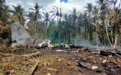 سقوط هوایپمای نظامی در فیلیپین ۱۷ کشته و ۴۰ زخمی به جا گذاشت