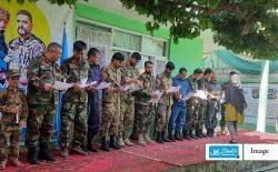 رقابت نقاشی کودکان به پشتیبانی از سربازان؛ «به خاطر سربازان است که میتوانیم درس بخوانیم»