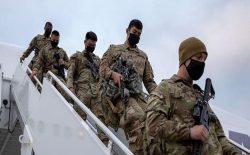 نخستین گروه سربازان امریکایی وارد کابل شد