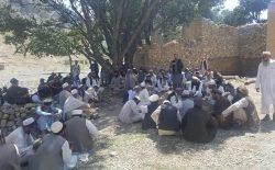بزرگان ولسوالی دوربابای ننگرهار: کسانی که با طالبان همکاری کنند، یک میلیون افغانی جریمه میشوند