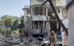 گروه طالبان مسؤولیت حمله بر خانهی بسمالله محمدی را به عهده گرفت