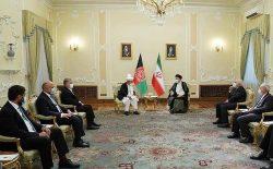 رییسی به غنی: از نظامی که حقوق همهی شهروندان افغانستان در آن حفظ شود، حمایت میکنیم