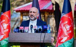 اتمر: تمامیتخواهی و تأکید طالبان بر راه حل نظامی، مانع اصلی در برابر گفتوگوهای صلح است