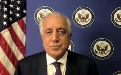 خلیلزاد: اگر طالبان کشور را با زور بگیرند، افغانستان به «دولت مطرود» بدل خواهد شد