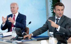 بایدن و ماکرون بر ادامهی کمکهای بشردوستانه به افغانستان تأکید کردند