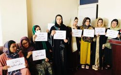 زنان افغانستان به طالبان: برای اهداف سیاسی تان، ما را گروگان نگیرید